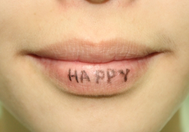 write anything on my lips and send you a picture of the same