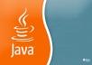 write any java program